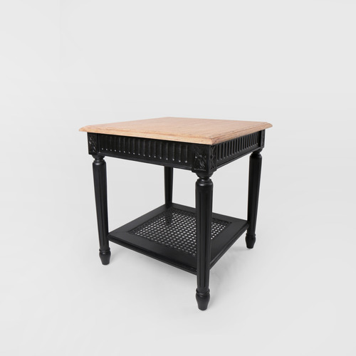Black French Sidetable