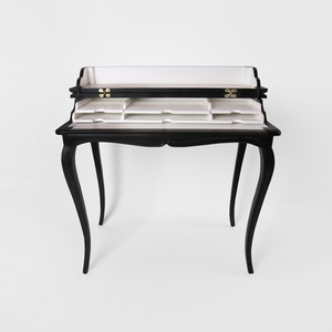 Black Piano Desk