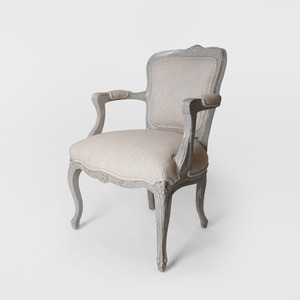 Beige French Chair