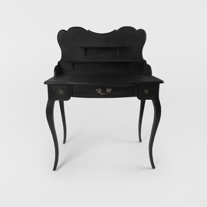 Black French Table
