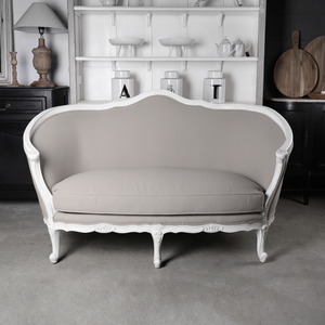 Beige French Sofa